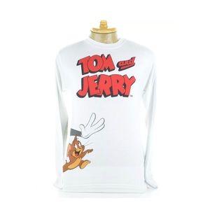 Tom and Jerry Hanna Barbera Men's T-Shirt Sz XL